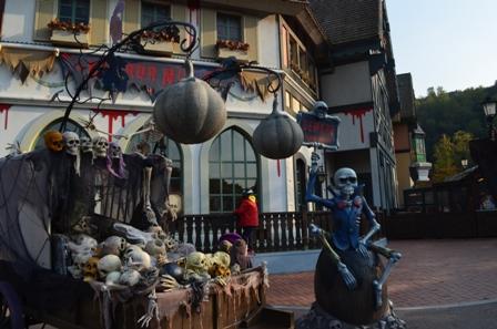 Halloween Korea Everland photo ops