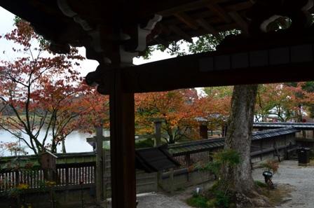 Kyoto Arashiyama Daikuji Temple pond