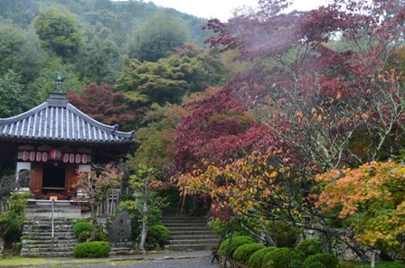 Kyoto Arashiyama Nishion Temple worship temple