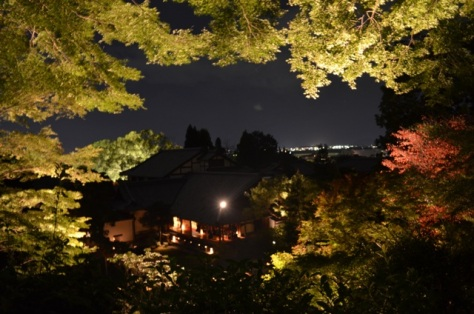 Kyoto Night Shorenin Temple title picture
