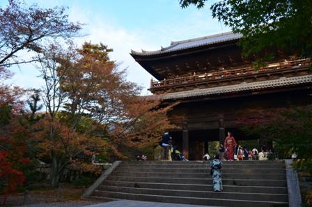 Kyoto Searching Nanzenji Temple main grounds