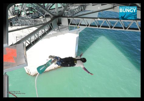 Auckland Bridge bungy 3