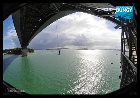 Auckland Bridge bungy 4