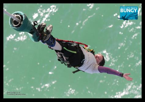 Auckland Bridge bungy 5