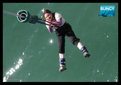 Auckland Bridge bungy 6