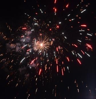 Holidays Christchurch NYE fireworks 1