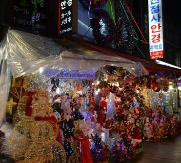 Holidays Seoul Christmas market