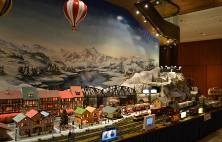 Holidays Seoul Hilton Christmas train 2