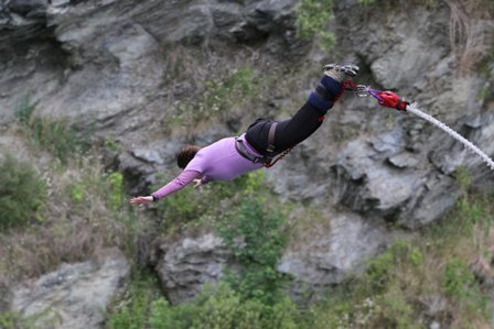 Kawarau Bridge bungy 4