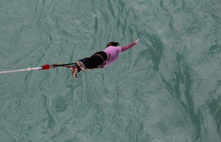 Kawarau Bridge bungy 5