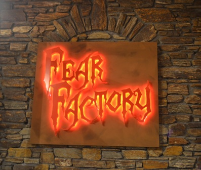 Queenstown Fear Factory sign