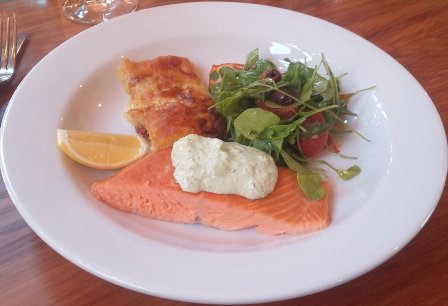 Wairau River Winery hot smoked salmon