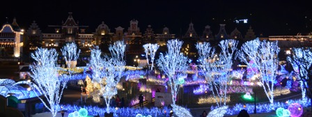 Everland Romantic Illumination garden panorama