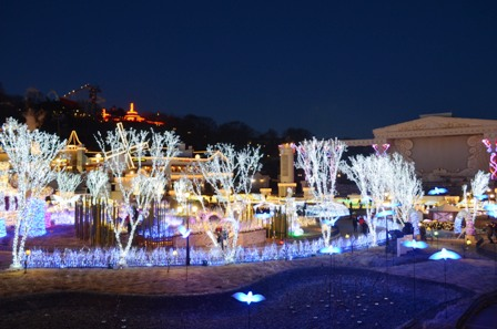 Everland Romantic Illumination garden