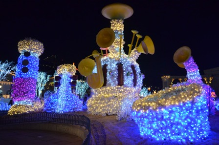 Everland Romantic Illumination music decorations