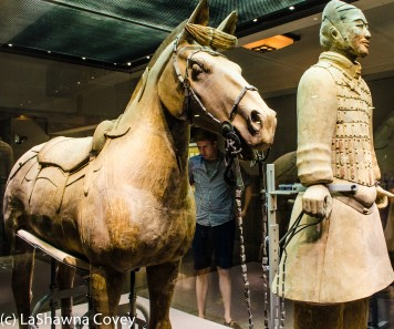 Terra Cotta Warrior cavalryman