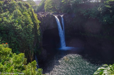 Big Island waterfalls and caves-3