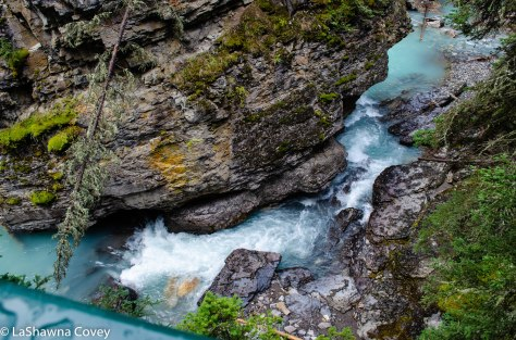 Johnston Canyon and Inkpots hike-1